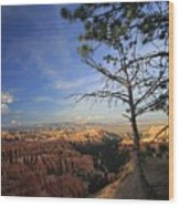 Sunset Colours Bryce Canyon 3 Wood Print