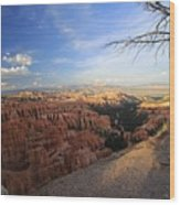 Sunset Colours Bryce Canyon 4 Wood Print