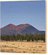 Sunset Crater Volcano National Monument Wood Print
