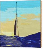 Sunset D1 Wood Print