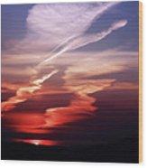 Sunset Dance Wood Print by Aidan Moran
