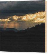 Sunset Delight Wood Print