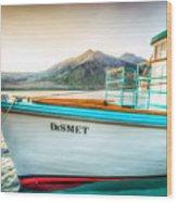 Sunset Dinner Cruise Wood Print