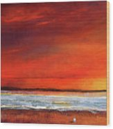 Sunset Dreamin Wood Print