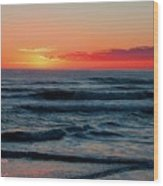 Sunset For Mia H A Wood Print
