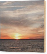 Sunset Gate 17 2 Wood Print