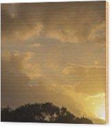 Sunset Glow 2 Wood Print