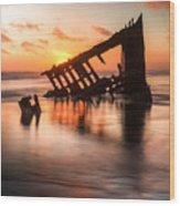 Sunset Glow 0016 Wood Print