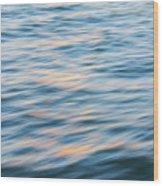 Sunset Hudson River Wood Print