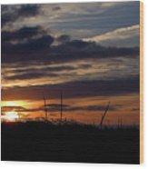 Sunset I I Wood Print