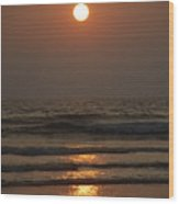 Sunset In Goa-2 Wood Print