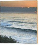 Sunset In La Jolla Wood Print