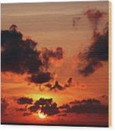 Sunset Inspiration Wood Print