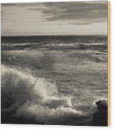Sunset - La Jolla Cove Wood Print