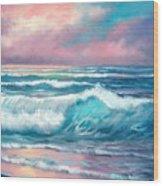 Sunset Majesty Wood Print