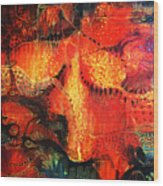 Sunset Mirage II Wood Print by Lolita Bronzini