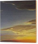 Sunset Near Rowlett Wood Print