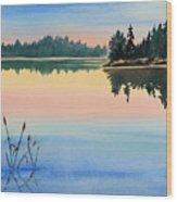 Sunset No.1 Wood Print