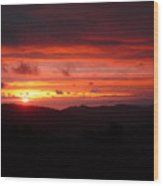 Sunset No.7 Wood Print