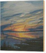 Sunset On St. Andrew Wood Print