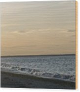 Sunset Over Gulf Of Mexico 1 Wood Print