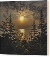 Sunrise Over Lake Huron Wood Print