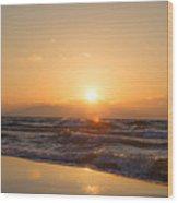 Sunset Over  Wood Print