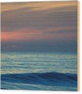 Sunset Paddle Wood Print