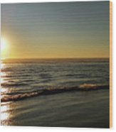 Sunset Serenity Wood Print