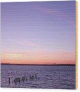 Sunset Series No. 4 Wood Print