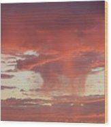 Sunset Sky Wood Print