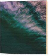 Sunset Splash Wood Print