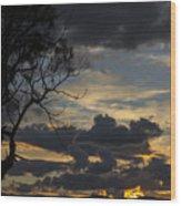 Sunset Study 1 Wood Print