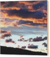 Sunset Supreme Wood Print