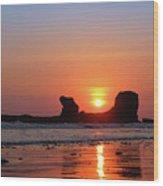 Sunset To Remeber  Wood Print