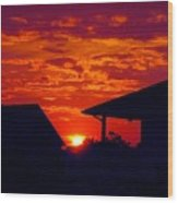 Sunset Va 4717 Wood Print