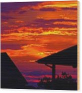 Sunset Va 4736 Wood Print