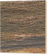 Sunset Waves Over Carmel Beach Wood Print