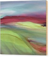 Sunset Western Scotland  Wood Print