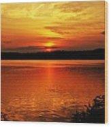 Sunset Xxiii Wood Print