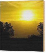 Sunset2 Wood Print