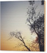 Sunset3 Wood Print