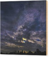 Sunseticus Dramaticus Wood Print