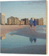 Sunsets On Marco Island Wood Print