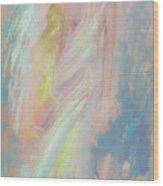 Sunshine Angel Wood Print