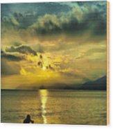 sunshine at Puerto Cabello Wood Print
