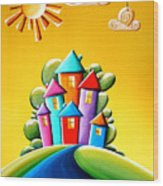 Sunshine Day Wood Print by Cindy Thornton