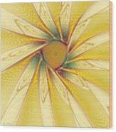 Sunshine Flower Wood Print
