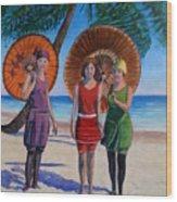 Sunshine Girls Wood Print
