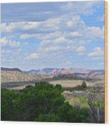 Sunshine On The Mountains - Verde Canyon Wood Print